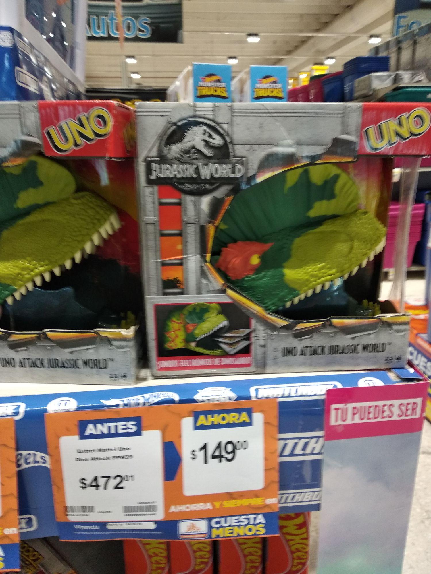 Uno Dino Attack En Chedraui Puebla