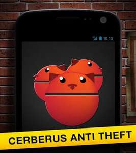 Google Play: Cerberus anti theft gratis sólo hoy (regular $50)