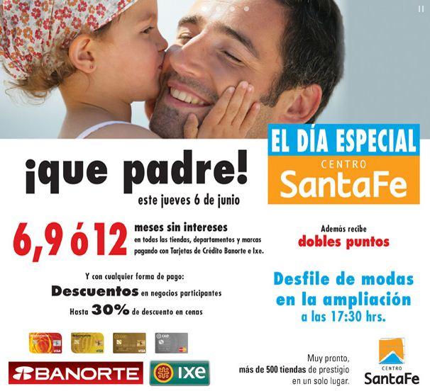 Día Especial Centro Santa Fe junio 6