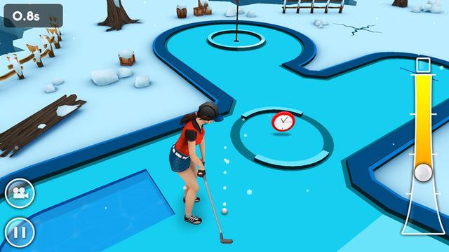 Juego MINI GOLF GAME 3D para iOS, como descarga GRATUITA en iTunes por 48 horas.
