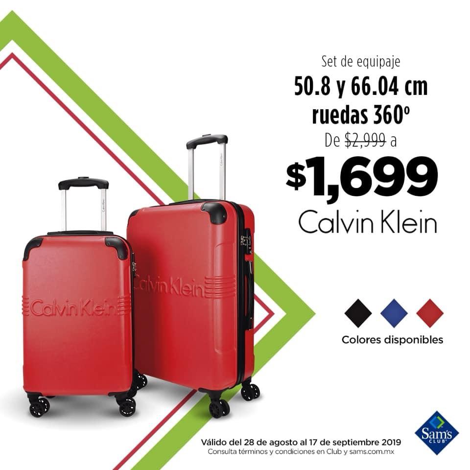 Sam's Club: juego de maletas Calvin Klein