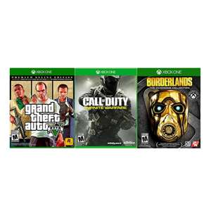 Walmart Set de Videojuegos Xbox One Call of Duty Grand Theft Auto V y Borderlands the Handsome Collection