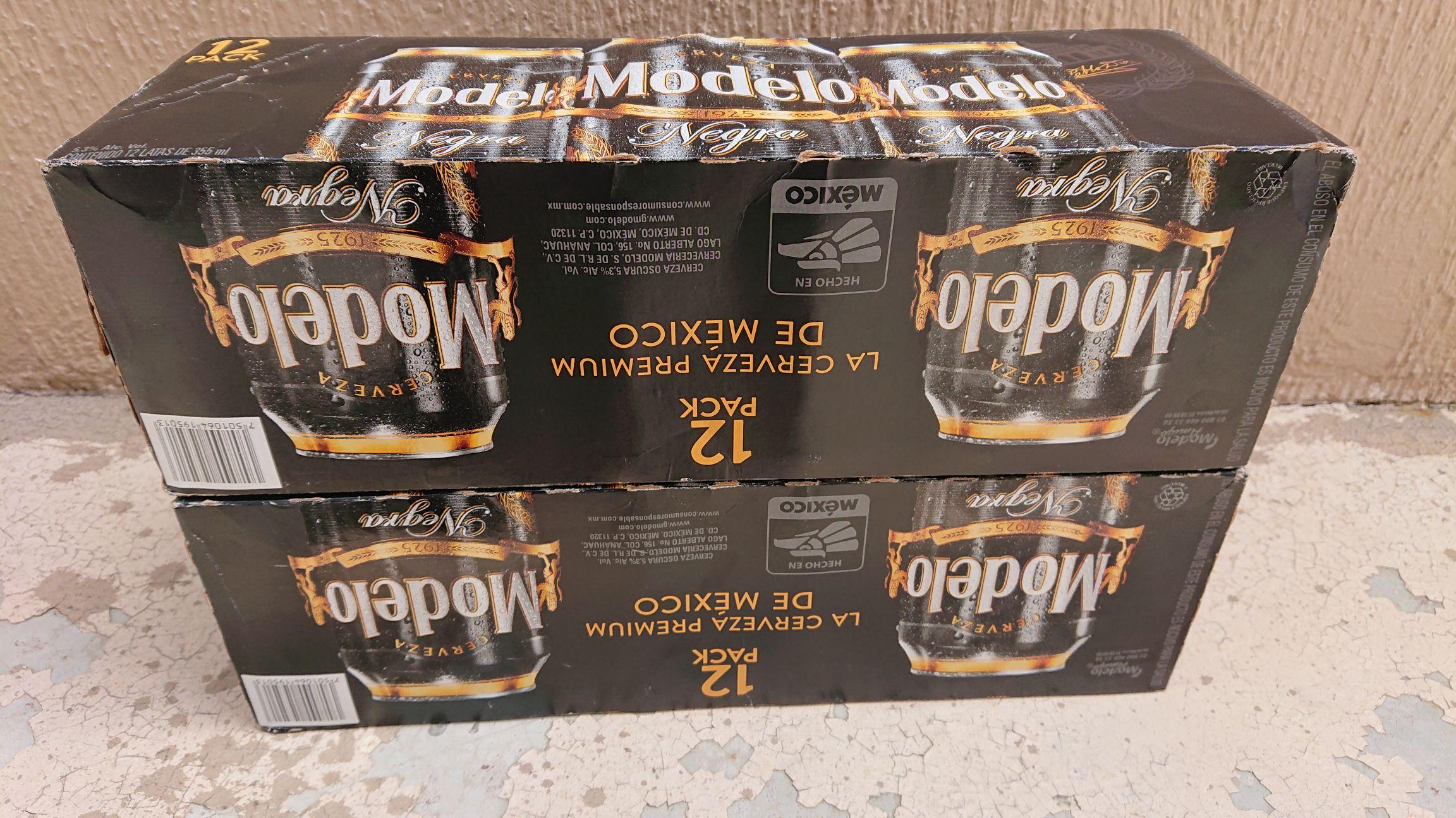 Walmart Cerveza Negra Modelo LATA