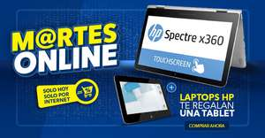 Best Buy: Tablet de regalo en Laptops HP y más