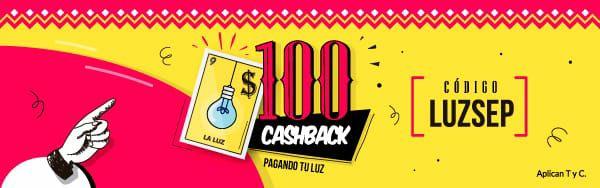 UnDosTres: 100 de cashback en pago de luz