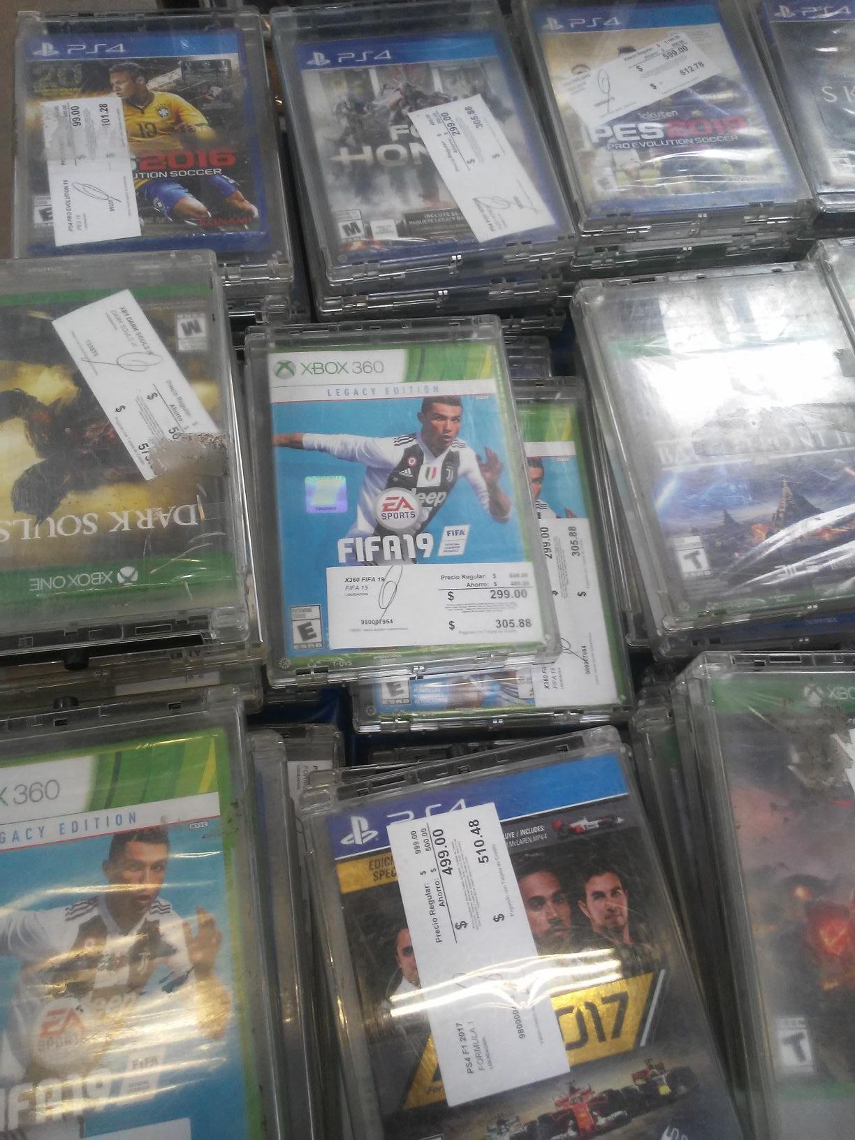 Sam's Club: Juegos XBOX360, ONE, PS3-4 DESDE $99