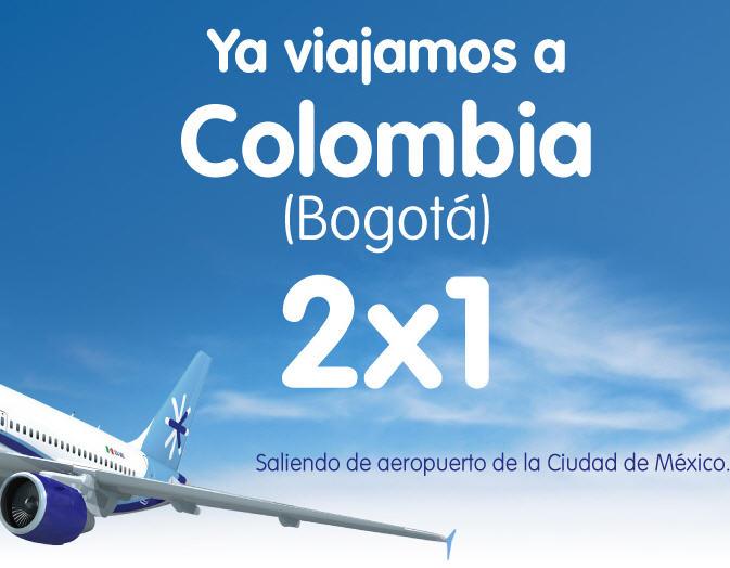 Nueva ruta Interjet: 2x1 a Colombia