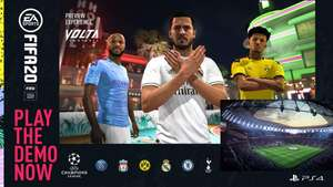 PSN: Demo FIFA 20 PS4