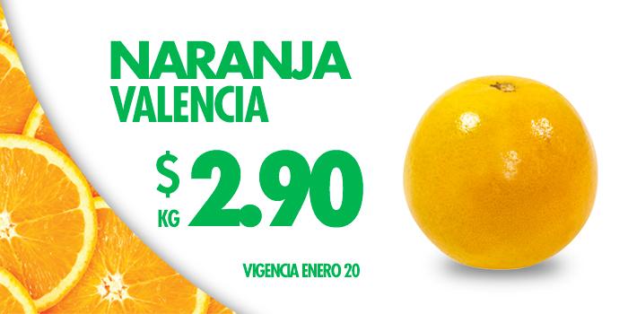 Hoy es Miércoles en Comercial Mexicana enero 20: Naranja Valencia a $2.90 el kilo y más