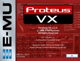 Software Profesional para Producción de Música E-MU SYSTEMS PROTEUS VX como descarga GRATUITA para Windows cortesía de Creative Labs.