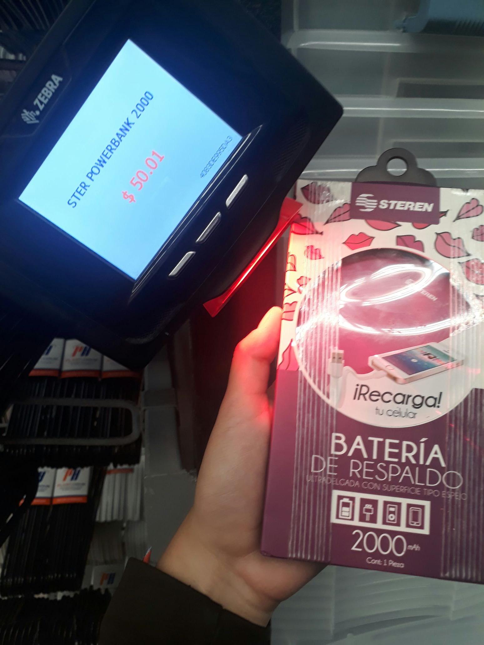 Walmart: Power Bank/ batería de respaldo en 50.01