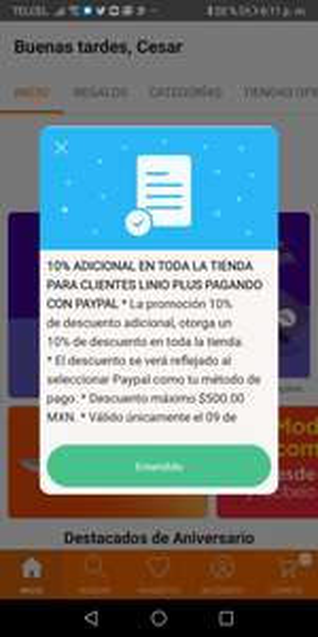 LINIO: -10% EN TODA LA TIENDA CON LINIO PLUS