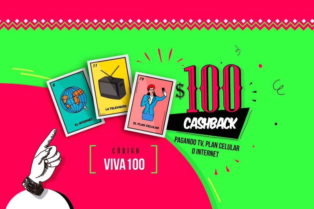 Undostres: Cashback de $100 en monedero al pagar internet, TV o plan celular