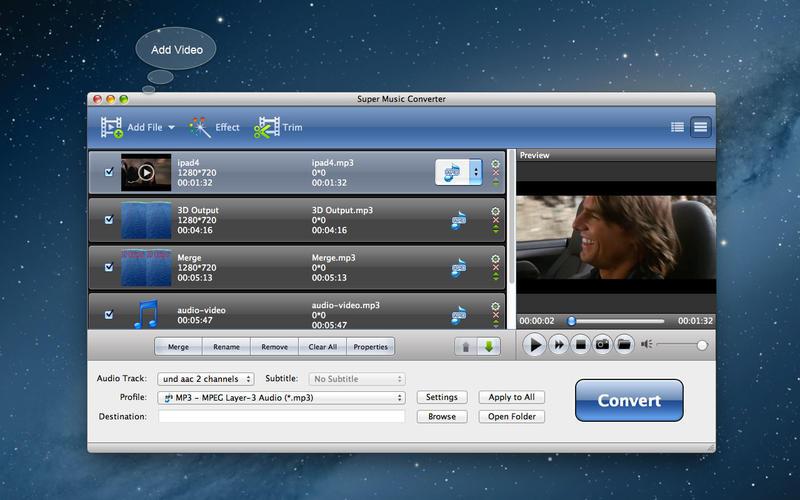 App SUPER MUSIC CONVERTER para OS X (precio original de $295.00 pesos), GRATIS por 1 SEMANA en Apple App Store.