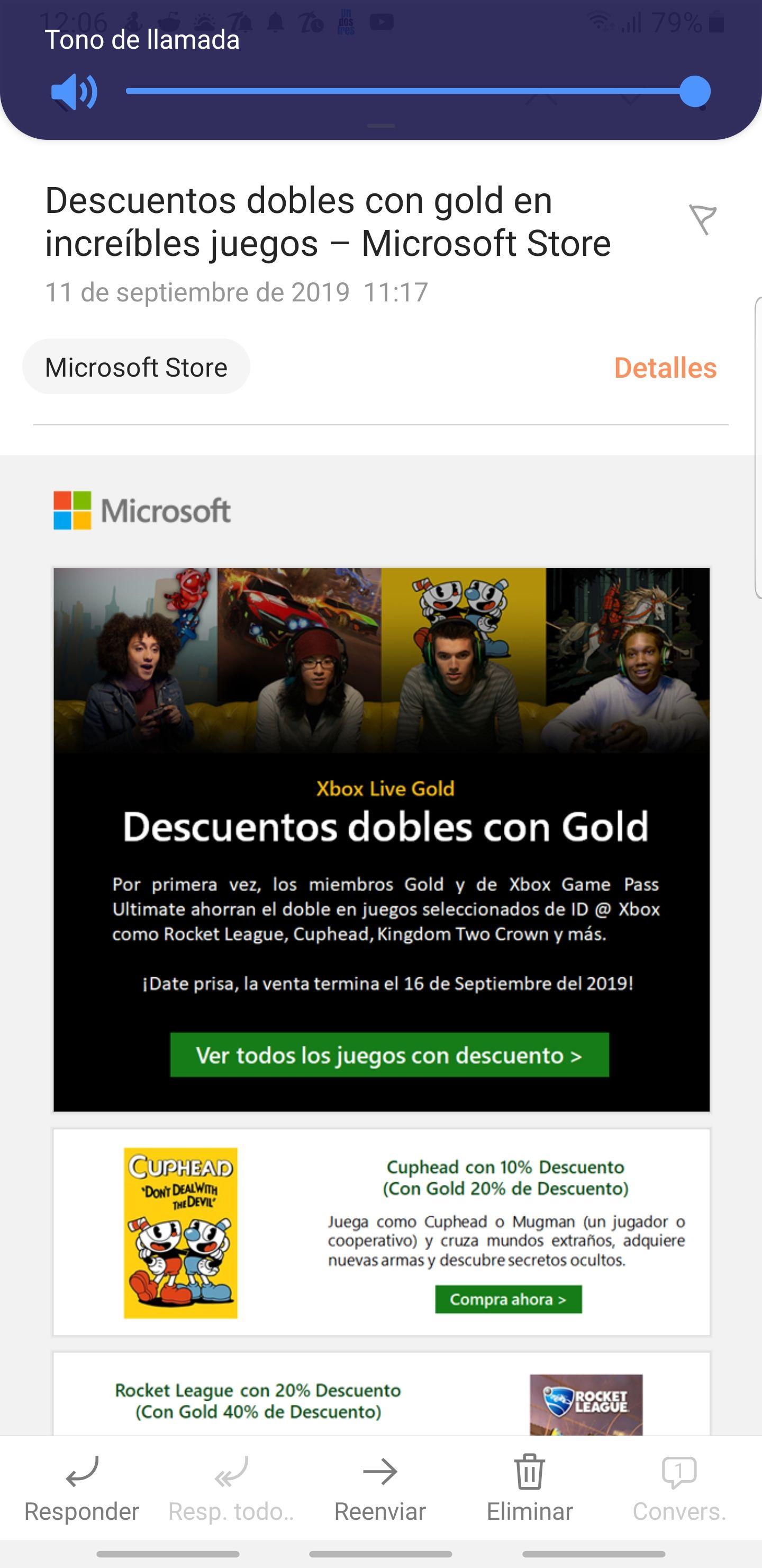 Microsoft XBOX juegos con descuento doble con gold