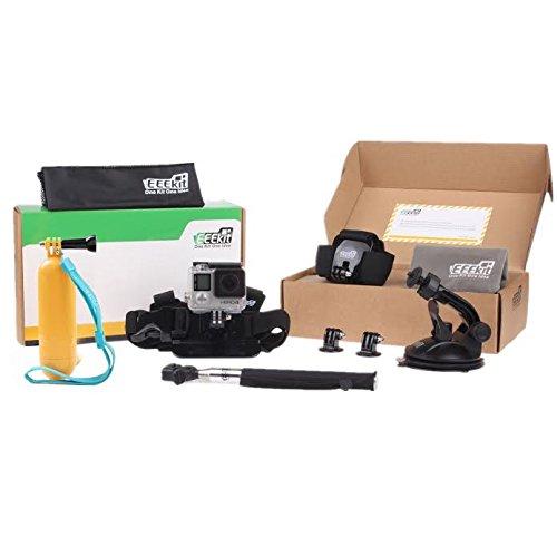 Amazon: Kit 8-en-1 Juego de accesorios para Cámara GoPro
