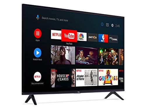 Amazon: TCL 32A325 Smart TV (Android TV) HD, Control de Comando de Voz, Google Chromecast Built In, Google Assistant, HDR10, de LED