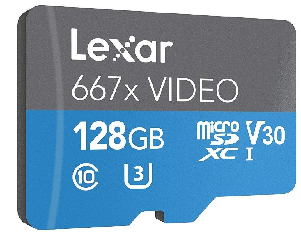 Amazon: Lexar 128 GB (667X, U3) Envio Gratis Con Prime