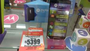 Walmart Coacalco PC: celular Moto X Play