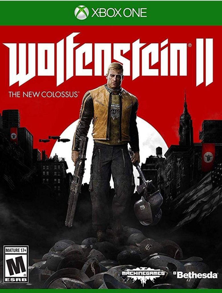Amazon: Wolfeinstein 2: The New Colossus Xbox One