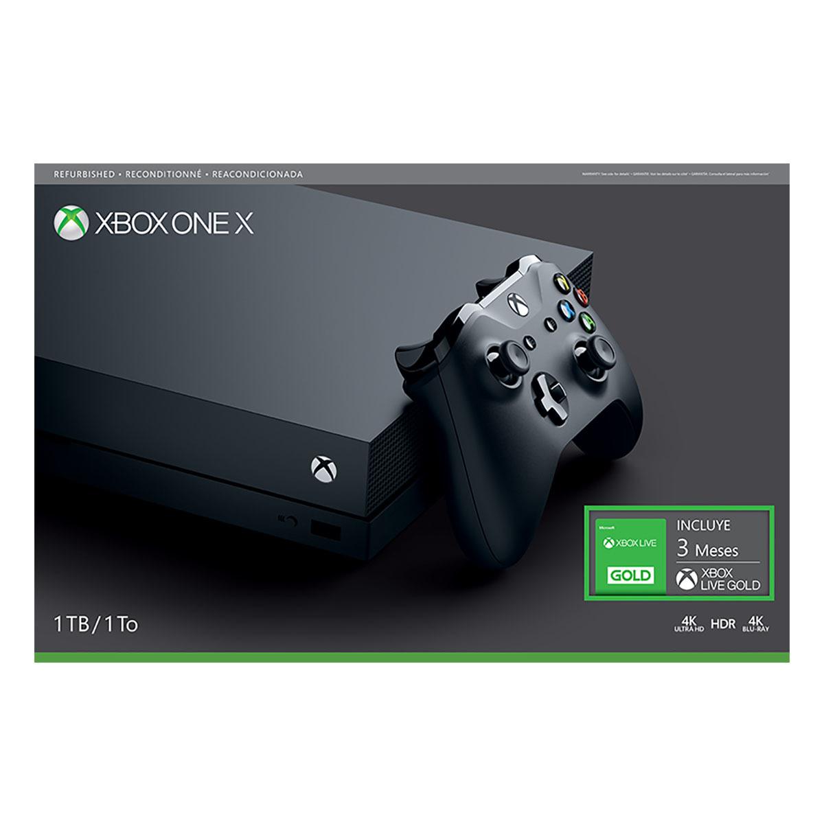 Chedraui: Xbox one X Refurbished $5863.00 con cupón Santander.