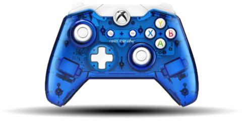 Gamers: control rock candy azul alambrico para Xbox One a $374