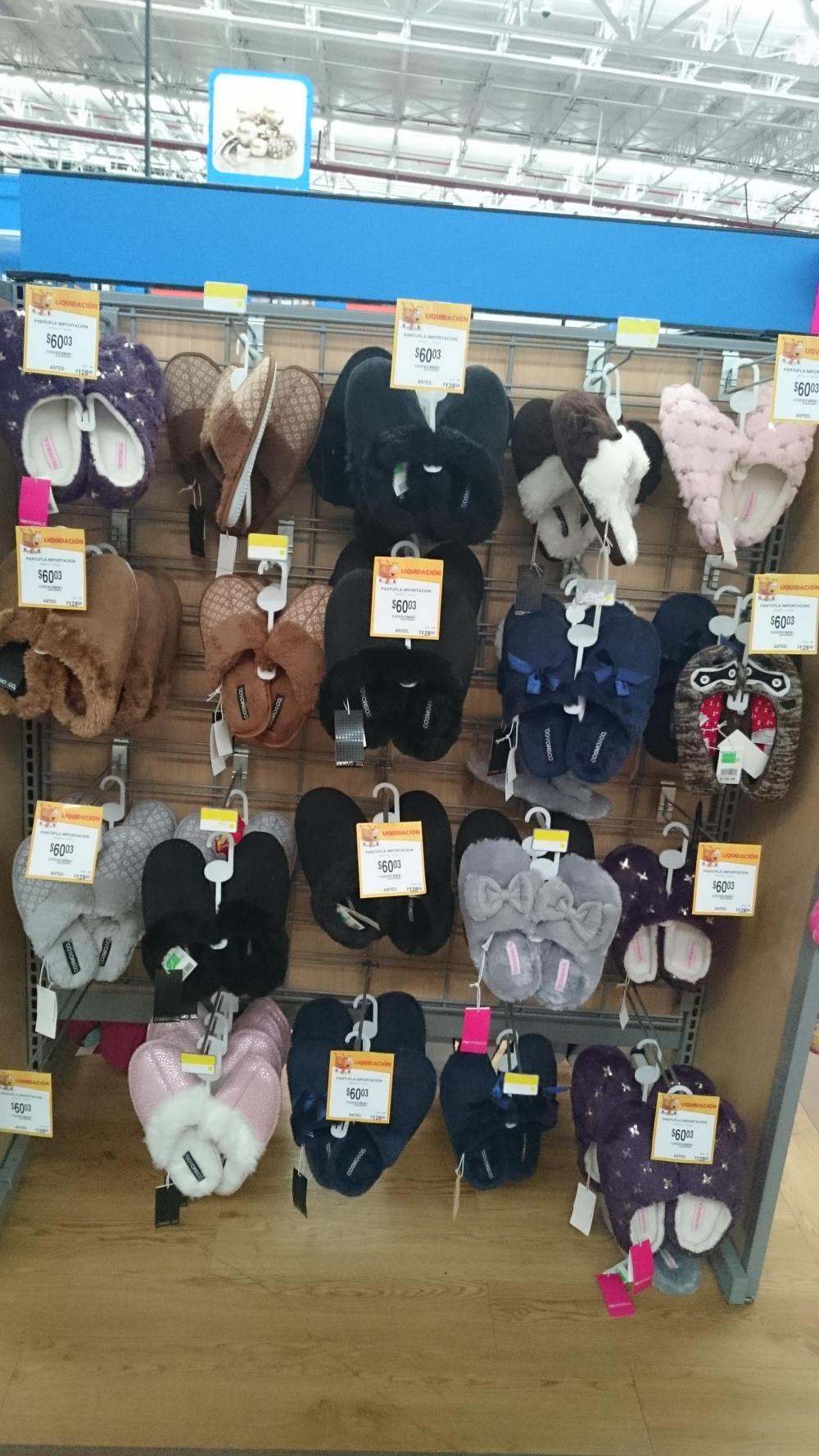 Walmart 15 de Mayo Puebla: Pantuflas de $128 a $60 y Pantalones de $228 a $90