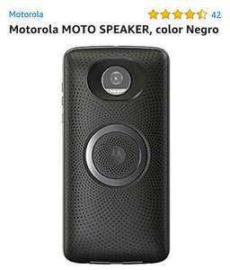 Amazon: Moto speaker negro