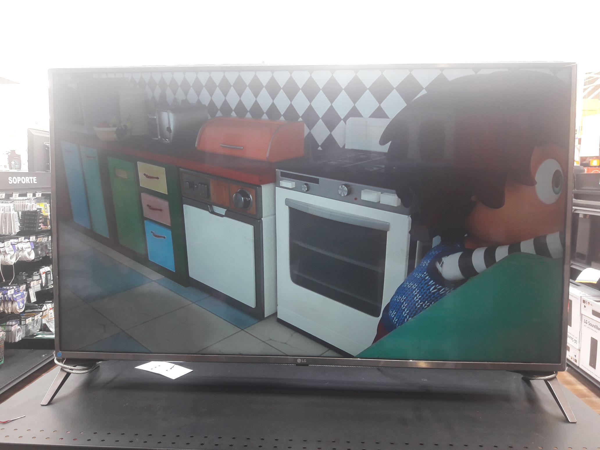 Chedraui Olmeca Villahermosa: Pantalla LG 49 UHD Smart TV 49UJ63