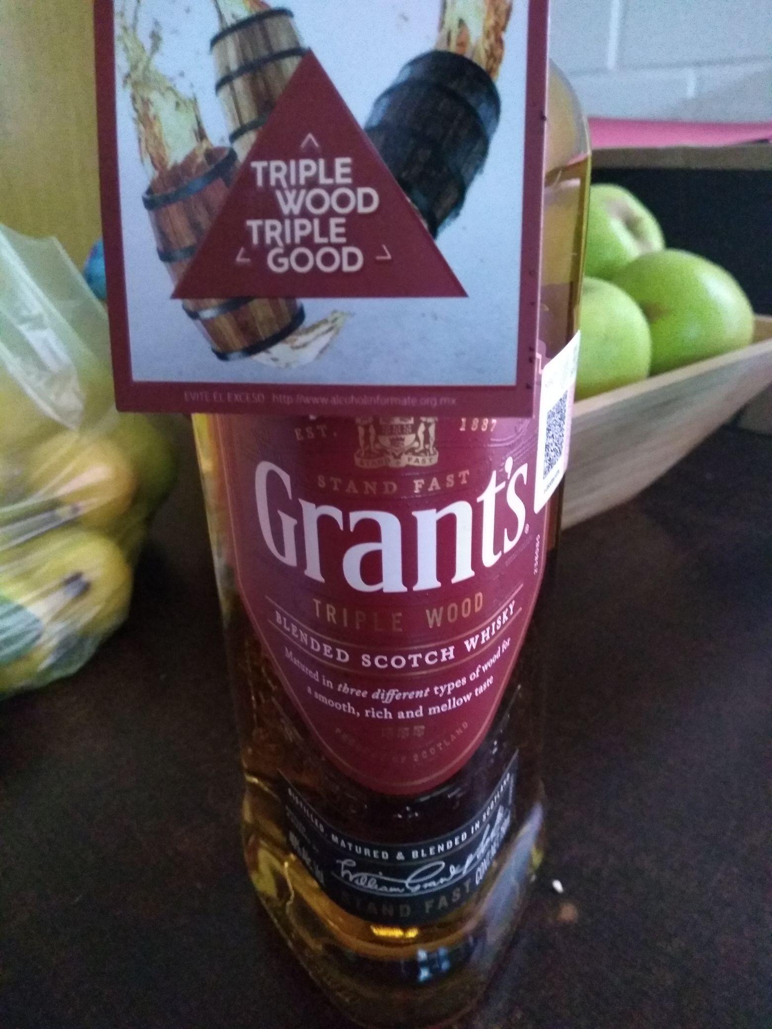 Superama : whisky grants última liquidación $49.01