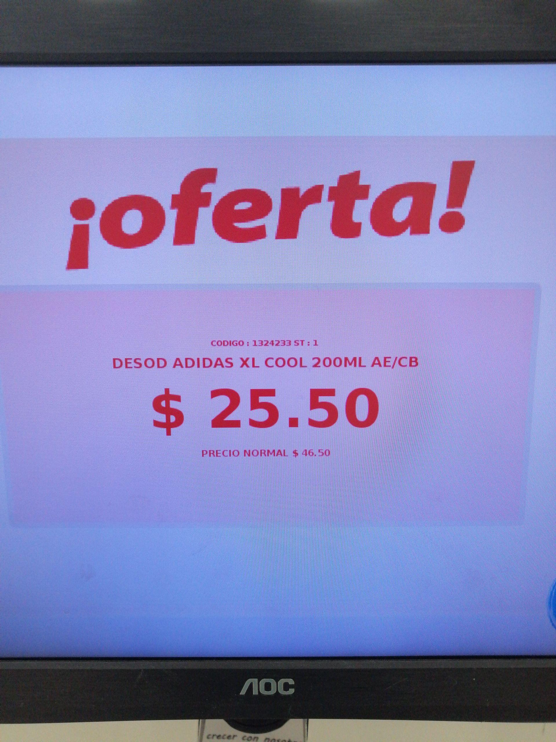 Farmacias Guadalajara: Desodorante Adidas XL 200 ml