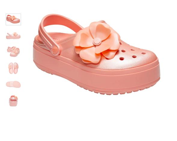 Liverpool en línea: Elegantes sandalias para una fiesta de la marca CROCS