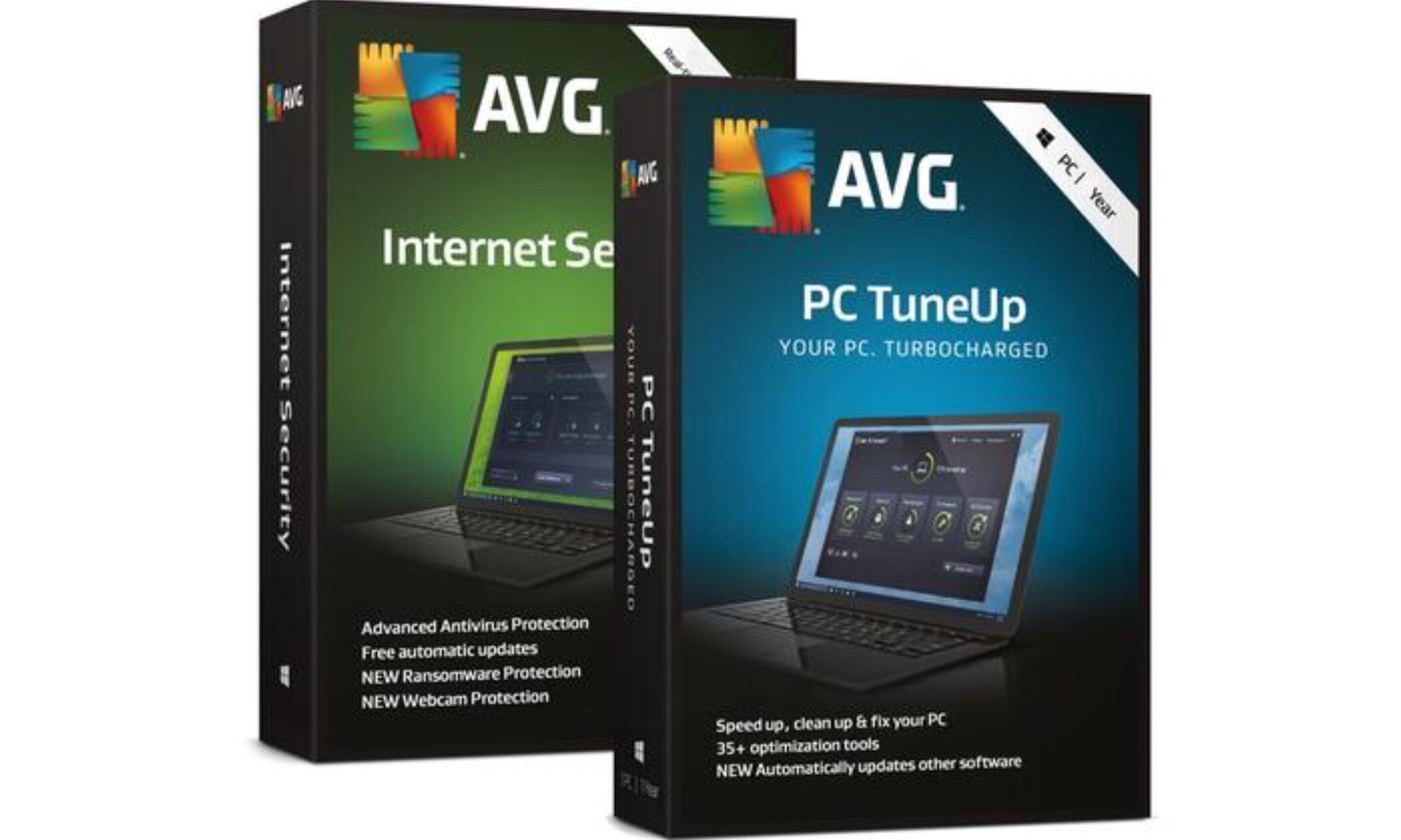 TuneUp y AVG Antivirus 2019 GRATIS 2 AÑOS