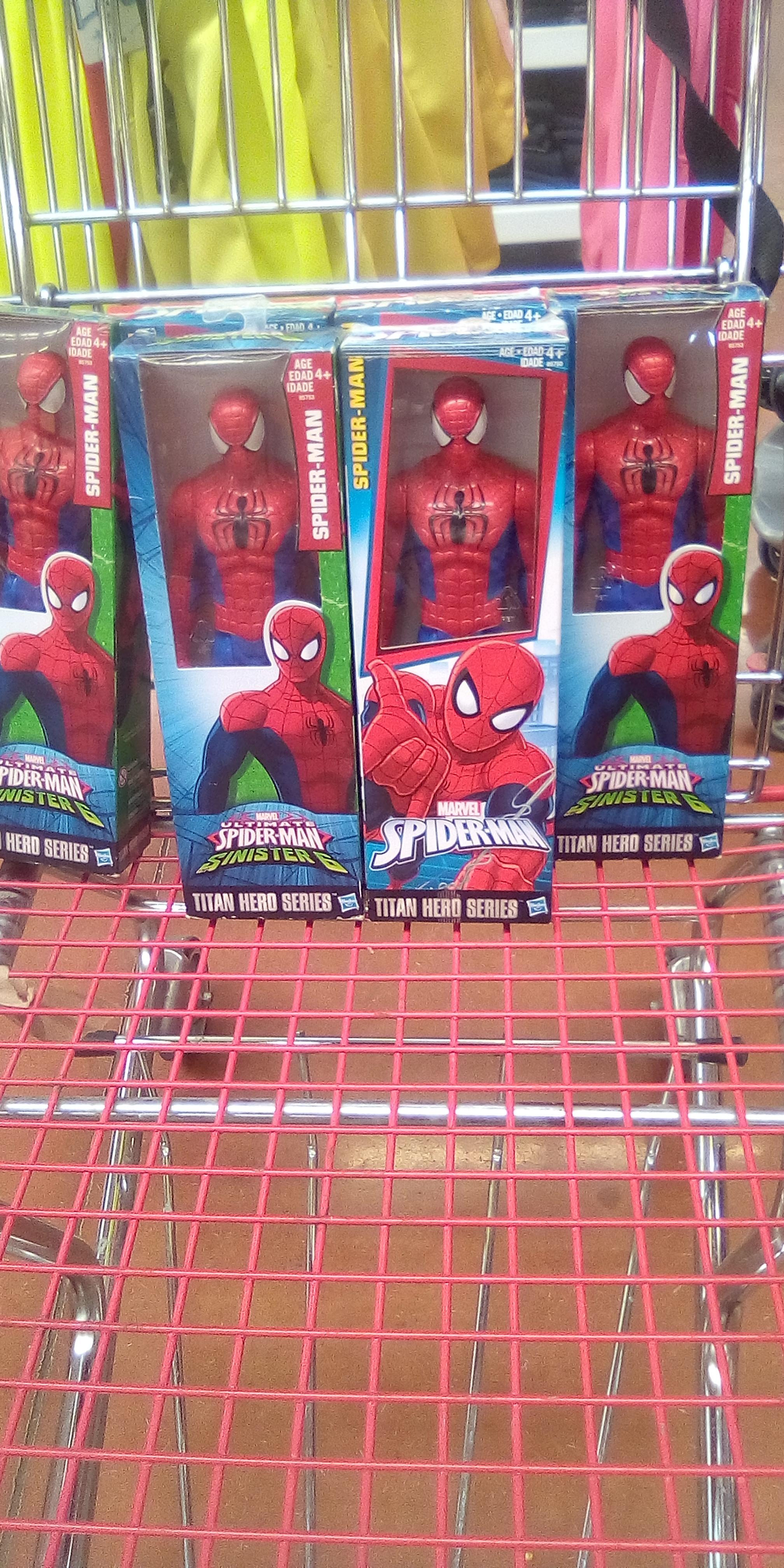 Mercado Soriana: Muñeco Spiderman