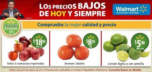 Martes de frescura Walmart junio 4: todas las manzanas importadas $18.90 y más