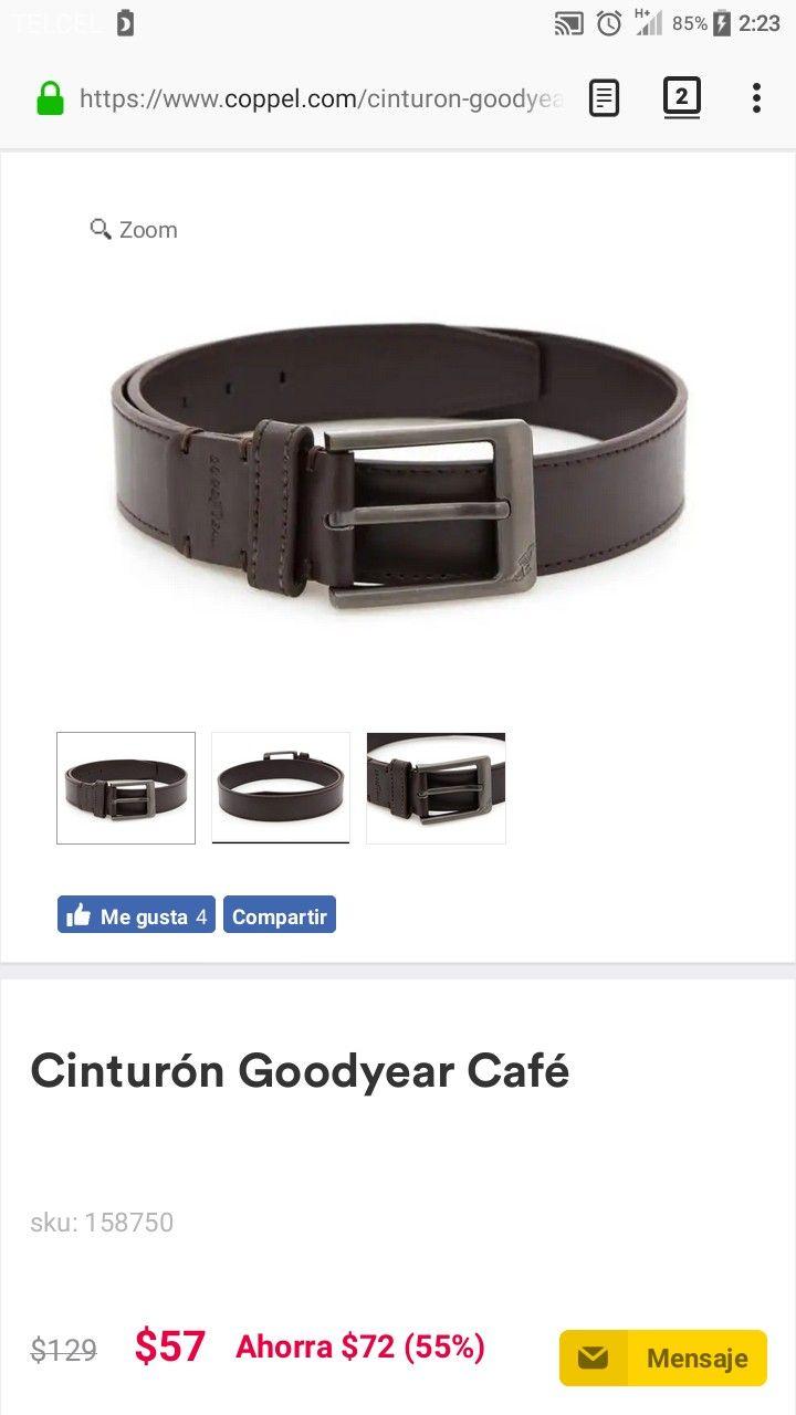 Coppel: cinturón GoodYear N. 30