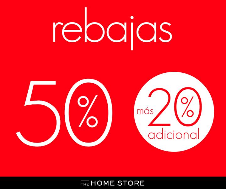 The Home Store: 20% de descuento extra en rebajas