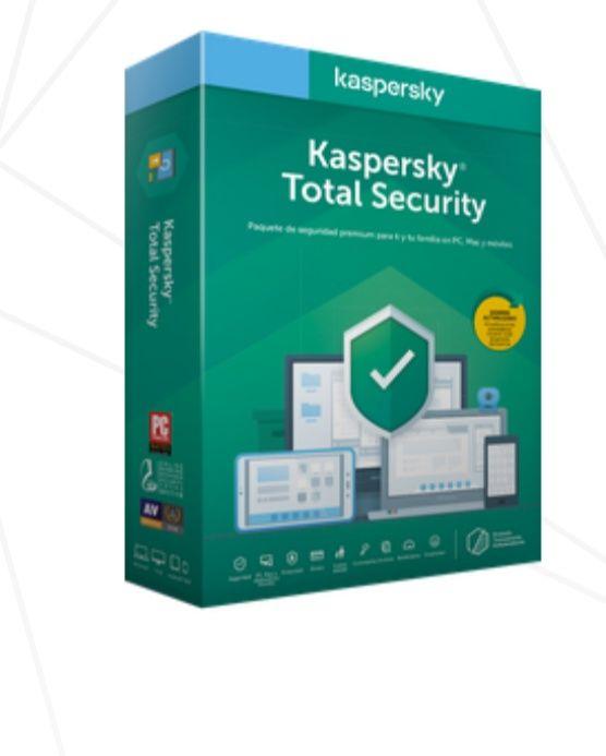 Kaspersky - 90 días de prueba Kaspersky total security