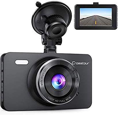 Amazon USA: Dashcam para coche 1080p com visión nocturna.