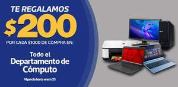 Comercial Mexicana: 2x1 y medio en pañales Huggies, $200 de descuento por cada $1,000 en computadoras