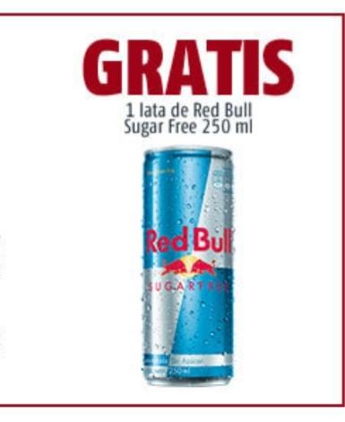 OXXO  Red Bull Gratis, 2x1 y más premios al registrar tu ticket.