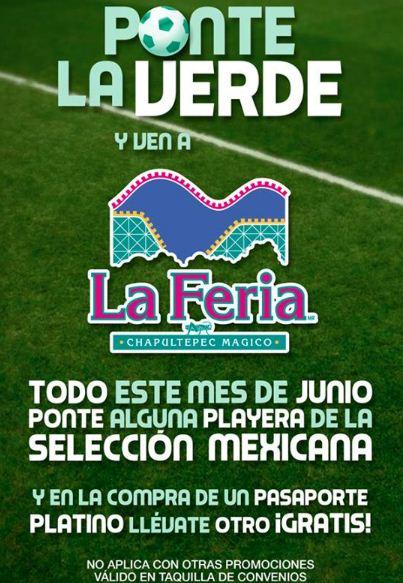 La Feria de Chapultepec: 2x1 con cualquier playera de la selección