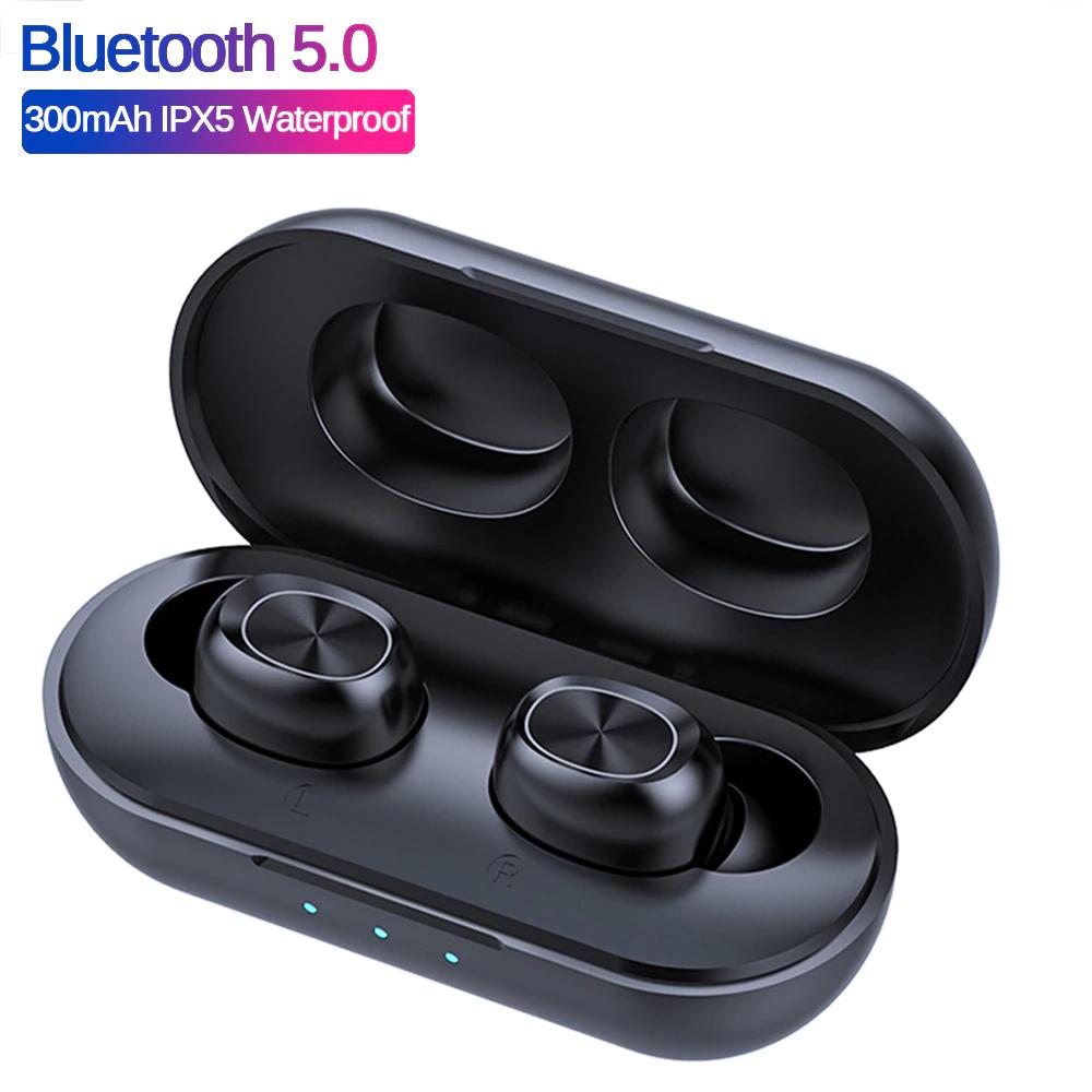 Aliexpress: Audifonos inalámbricos Bluetooth B5 TWS 5,0 (a prueba de agua)