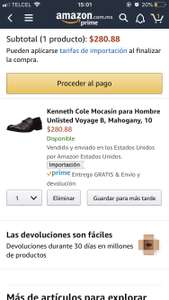 Amazon: Zapatos kenneth cole mocasín