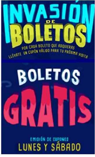 Cinépolis: Invasion de Boletos Gratis Al comprar boletos en Taquilla Lunes y Jueves