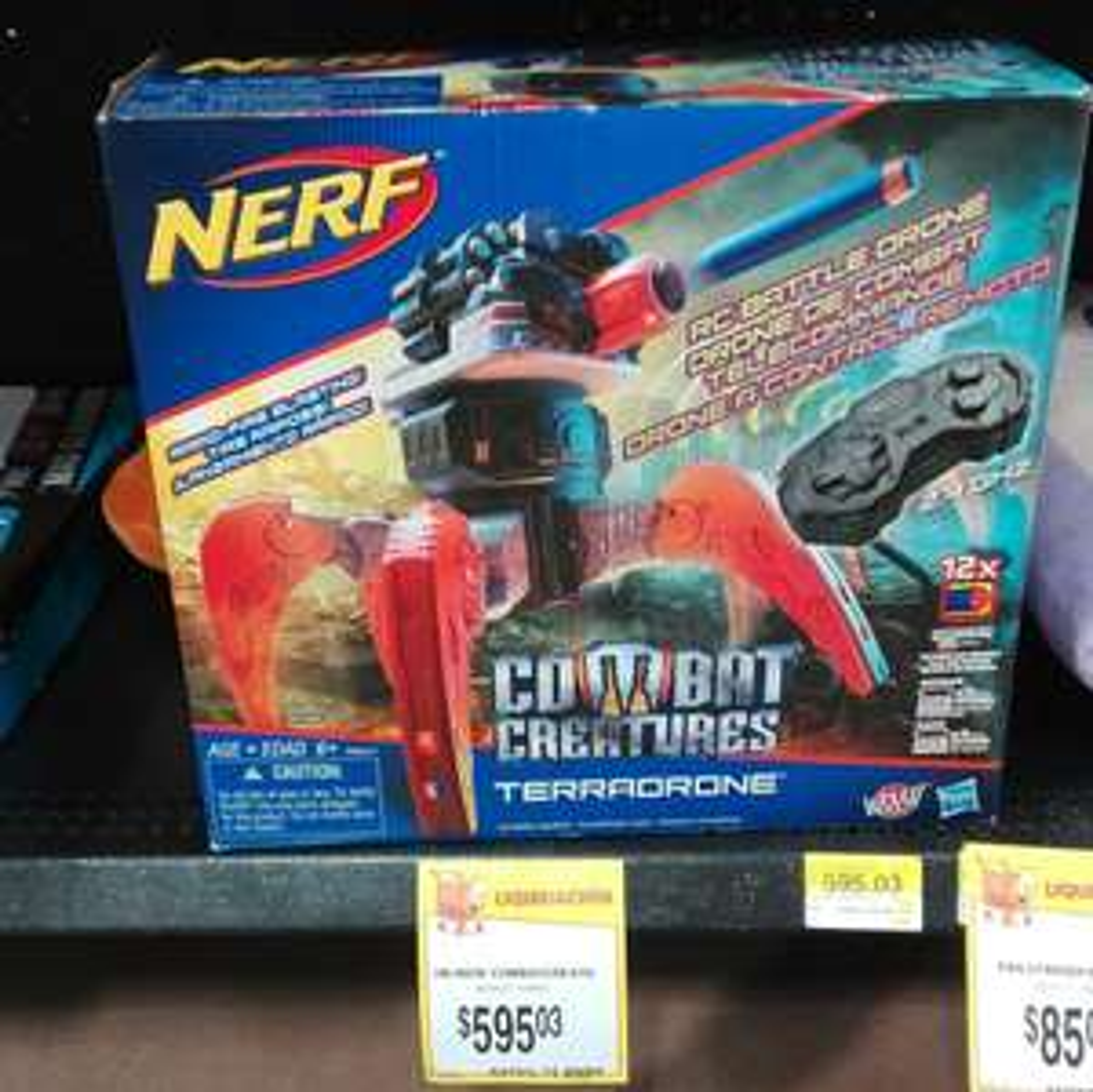 Walmart: Nerf Terradrone $595.03