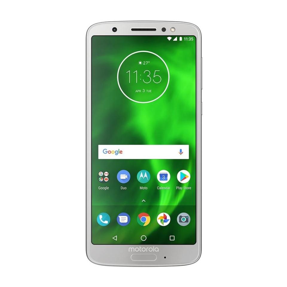 Walmart: Smartphone Motorola Moto Moto G6 32GB Silver Desbloqueado Hasta 18 msi