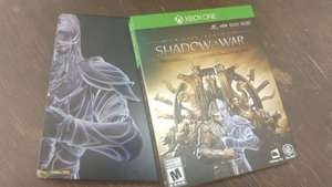 Amazon: Middle-earth: Shadow Of War Gold Edition Steelbook Xbox One