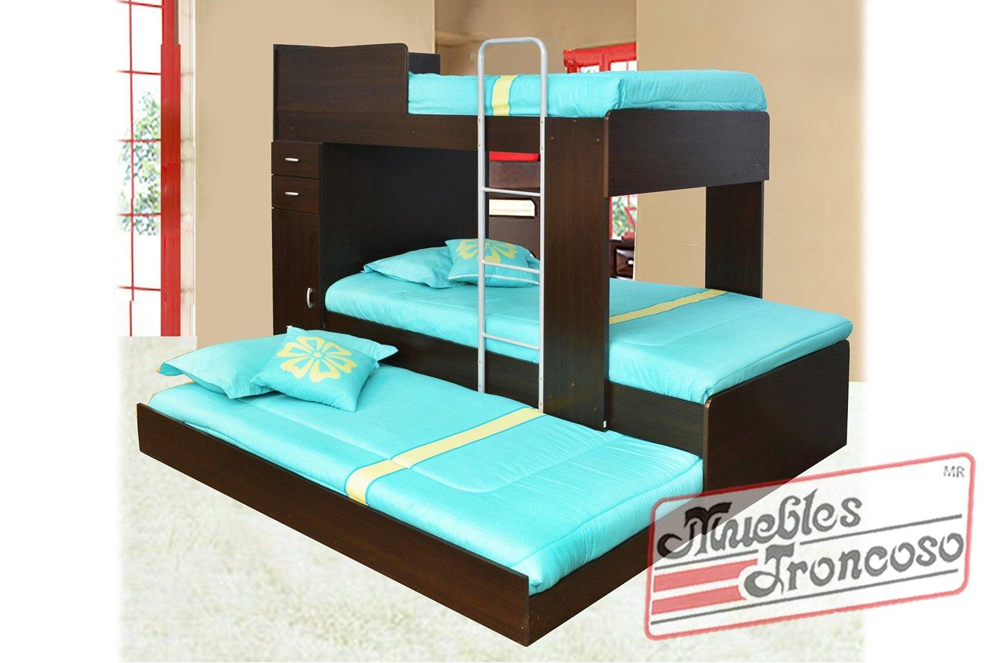 Muebles Troncoso: Litera 340 Chocolate