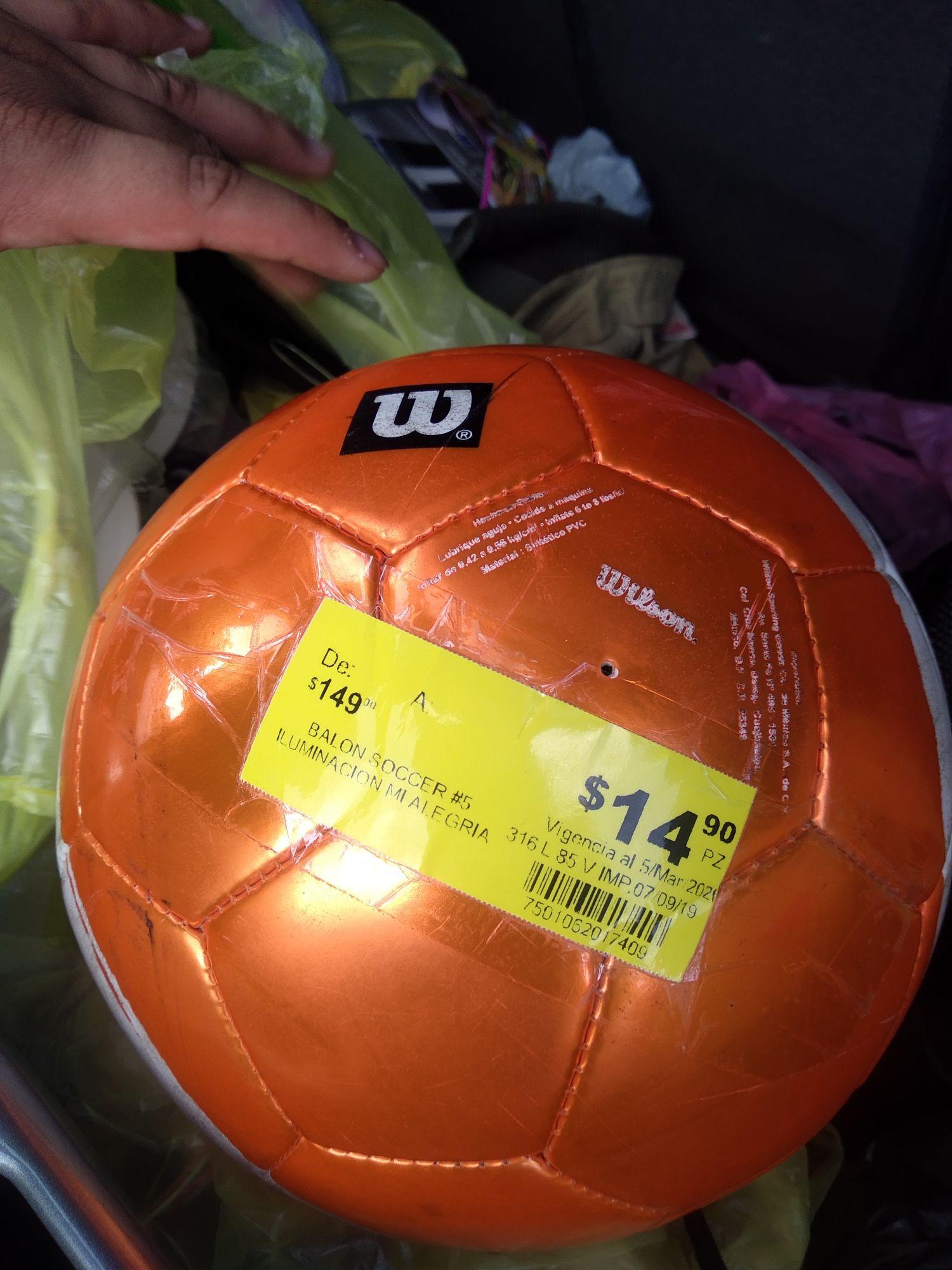 Soriana: Balones Wilson
